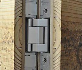 Stealth Door With Heavy-Duty Hidden Hinges - Fine Homebuilding