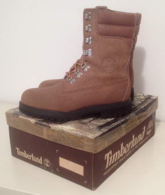 """Vendo #Timberland Super #Boot """"40 Below"""" #vintage #anni80 da #Paninaro, #MadeInUSA, modello 10283 con suole #Vibram    Nuovi con scatola e sacchetto bianco originali, misura 9 MW corrispondente a un 43 EU e 8.5 UK    I boot Timberland dell'epoca dei #Paninari, vero #vintage #80s    #abbigliamento #casual #uomo #men #fashion #vtg"""