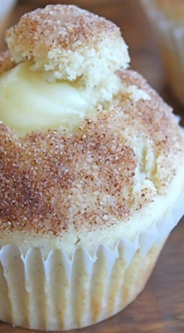 Doughnut Muffins with Vanilla Pastry Cream