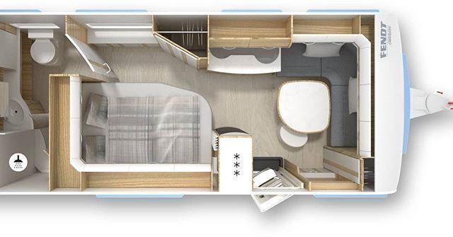 Nieuwe Badkamer Caravan : Nog een nieuwe indeling bij fendt de bianco activ sfd met