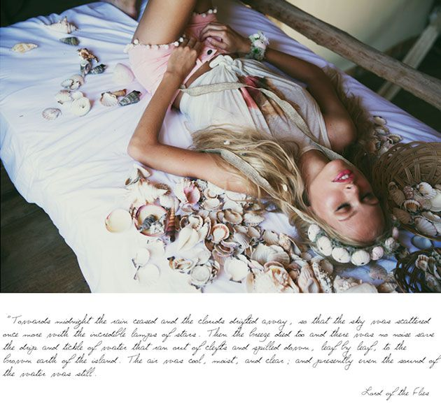 Wildfox Lagoon Fox Spring/Summer 2014 Collection  #fashion #romantic #bohemian