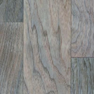 This Looks Like A Pretty Flooring Bruce Performance Walnut Pale Heather In Thick X 5 Wide Varying Length Engineered Hardwood At The Home Depot