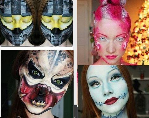 Как правильно и эффектно наложить макияж и грим для Хэллоуина или любого маскарада для натурального и реалистичного изображения магических персонажей - Адаптированная NQN магия