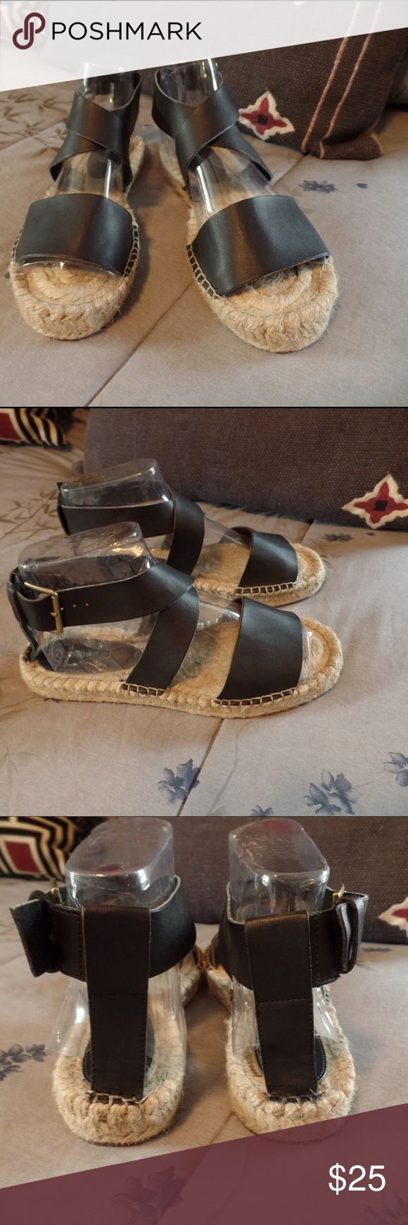 Ankle Strap Sandals Dup for Vince Elise sandals! Never worn, runs true to size. Forever 21 Shoes Sandals