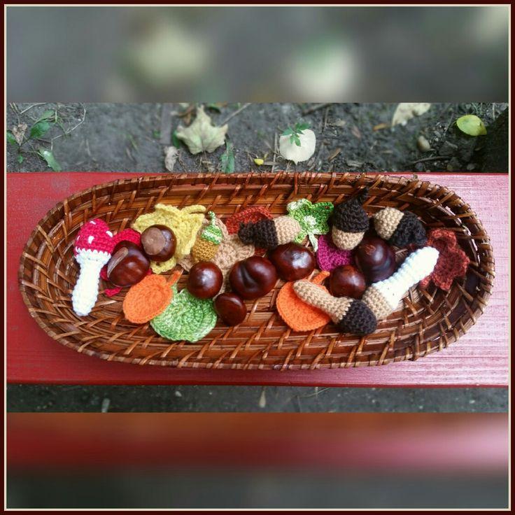Autumn basket / Őszi kosárka