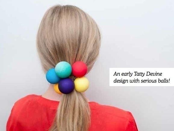 Mega Ping Pong Hair Bobble