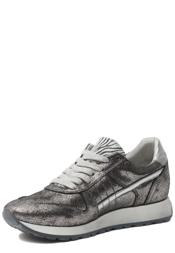 Aqa Sneaker Zilver | Online Kopen | Gratis verzending & Retour | Ziengs.nl
