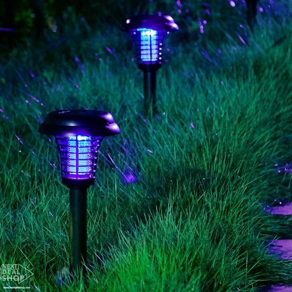 Solar-Powered LED Mosquito Killer Lamp
