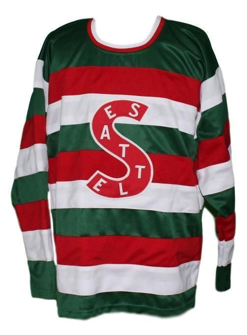 Details About Custom Name Seattle Metropolitans Retro Hockey