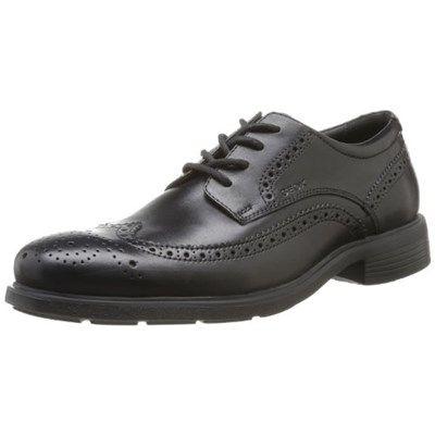 Chollo en Amazon España: Zapatos de cuero Geox U Dublin B por solo 60,52€ (un 36% de descuento sobre el precio anterior y precio mínimo histórico)