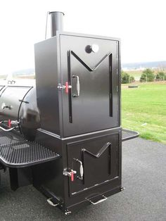 bbq smokers | Home  BBQ Smokers / Pits  TS500 BBQ Smoker Trailer