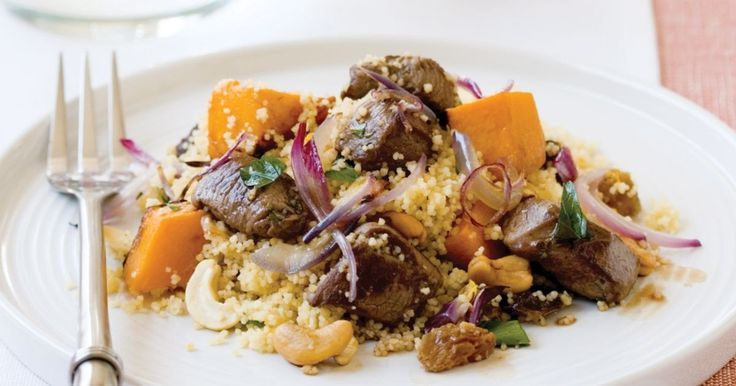 Lamb and couscous salad