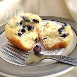 Easy Blueberry Buttermilk Muffins