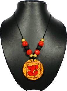 HeavenlyHandmade Terracotta Necklace