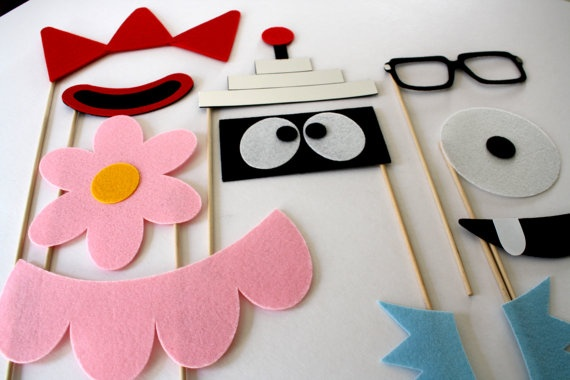 Party Props. Photo Booth Props.