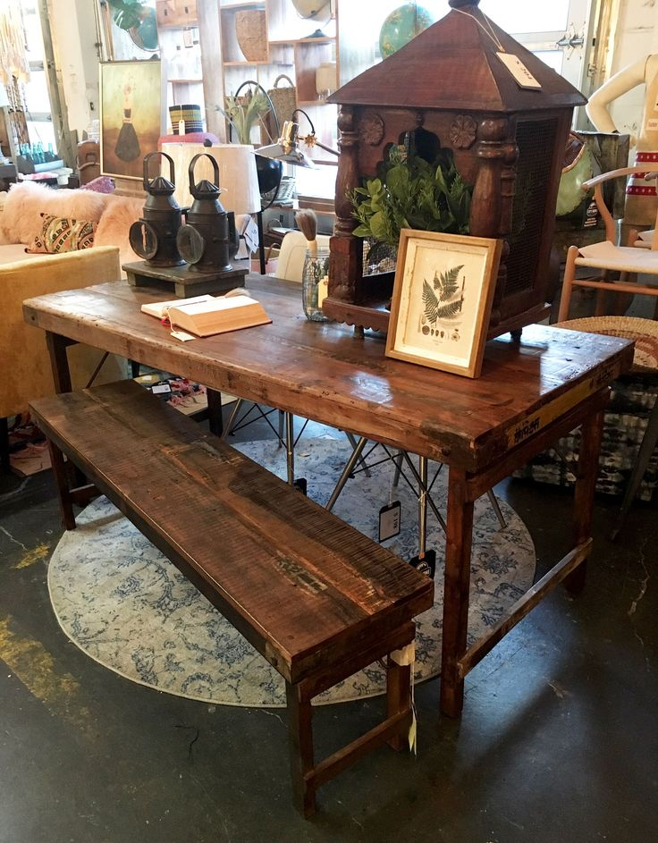 Vintage Indian Wedding Table Table Rustic Dining Table Rental Furniture