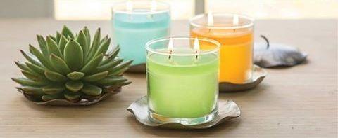 Porte pots à bougie, piliers et bougies à réchaud. https://angeliquevandamme.partylite.fr/Shop/Product/2599
