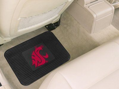 Washington State University Utility Mat by Fanmats. $9.48. High quality utility mats with your favorite teams logo. Versatile design used as automotive rear floor mat for cars, trucks and SUV's. Rubber construction with non-skid backing. Just the right size for door mats and workbench mat. Boast your team colors with utility mats by FANMATS. High quality and durable rubber construction with your favorite team's logo permanently molded in the center.  Non-skid back...