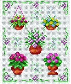 Decorate your home. flowers. Tons of FREE CROSS-SITCH PATTERNS at this site: just found a site that has really easy to download embroidery patterns for free. It's http://club-point-de-croix.com/?code_avantage=CWcplRsmji Plus, if you click on this link, http://club-point-de-croix.com/?code_avantage=CWcplRsmji  , you'll automatically receive a gift when you subscribe. I use this site all the time; there are hundreds of all different types of patterns, and there are new patterns added everyday.