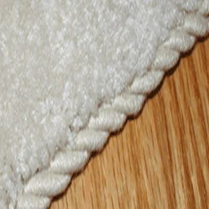 Rope Binding for carpet remnants. Saves money on throw rugs