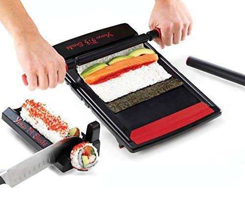 Yomo Sushi Maker, 12-Inch, Black
