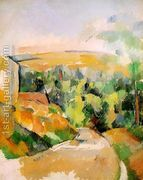 A Bend In The Road  by Paul Cezanne