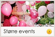 Køb festartikler til bryllup konfirmation og teamfest