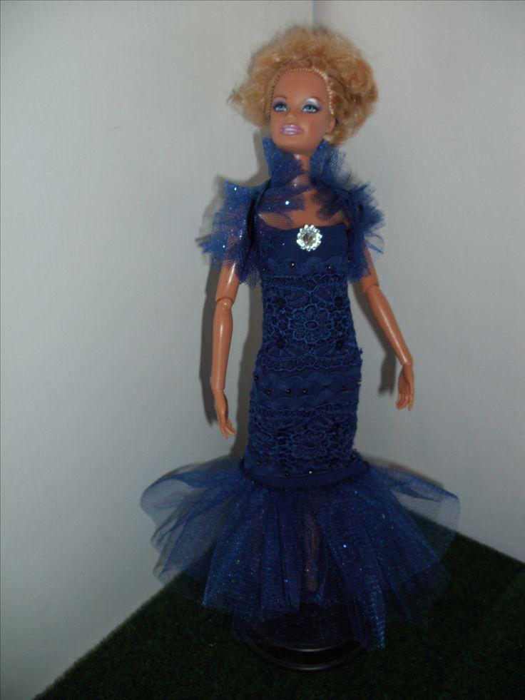barbie dtess handmade
