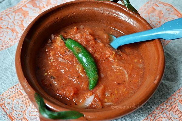 Salsa de jitomate yucateca