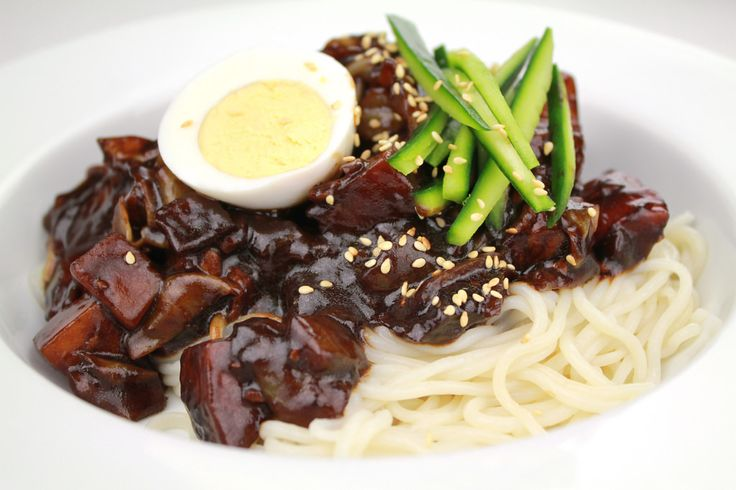 Koreans have a special day for people who didn't get anything for Valentine's Day: Black Day, when singles eat away their sorrows with a comforting bowl of jajangmyeon. Food makes everything better. Photo: Jajangmyeon by KFoodaddict / Wikimedia Commons