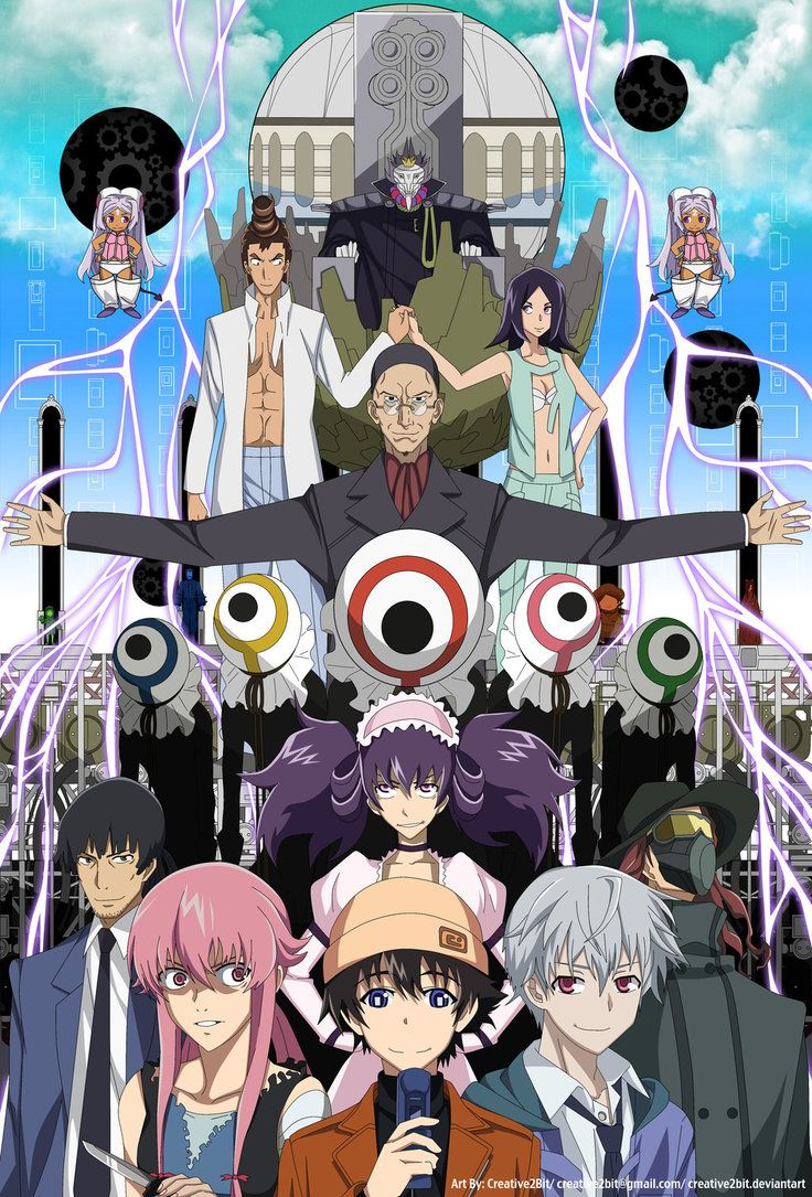 After watching Mirai Nikki in one setting, all of the 26 episodes. Description from creative2bit.deviantart.com. I searched for this on bing.com/images