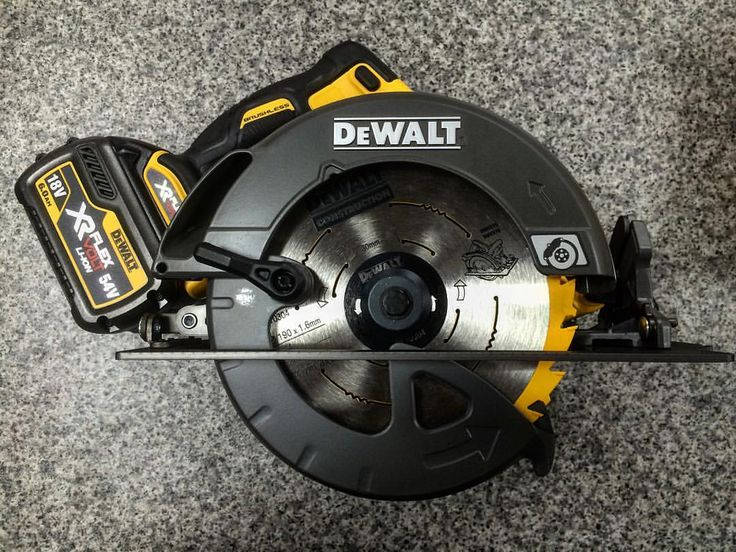"""84 Likes, 7 Comments - @romfordtools on Instagram: """"The impressive 54v 190mm skill saw from Dewalt. The first 190 saw to be put on the cordless range.…"""""""