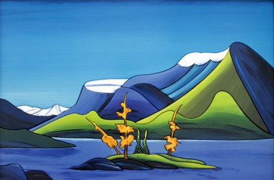 Just discovered Fraser McGurk on Tumblr love his landscapes remind me of Lawrence Harris & Ted Harrison