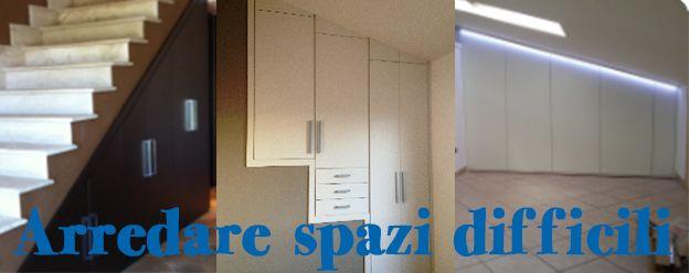 Arredare spazi difficili nella tua casa a Roma, nicchie e sottoscala. CONSIGLI E IDEE DAL BLOG: http://www.arrediemobili.com/blog/arredare-spazi-difficili