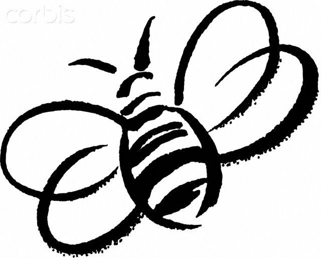How To Draw A Bumble Bee Clipart 2