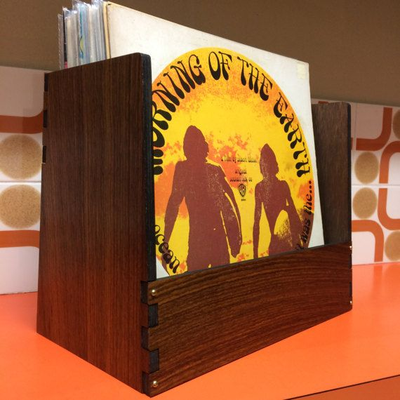 Vinyl storage Decor Item  Exotic Indian Rosewood #vinyl #record #album #lp #indianrosewood #recordbin #recordcrate #record box