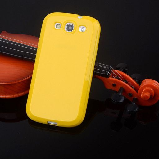 Lovely Candy Gel Silicone Case Soft Plastic Cover for Samsung Galaxy S3 SIII I9300 S 3 TPU Cell Phone Cases Black