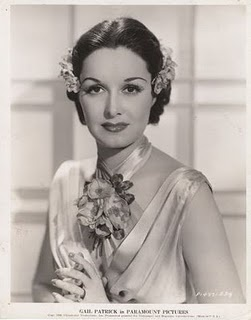 Gail Patrick.  I love the flowers framing her face.