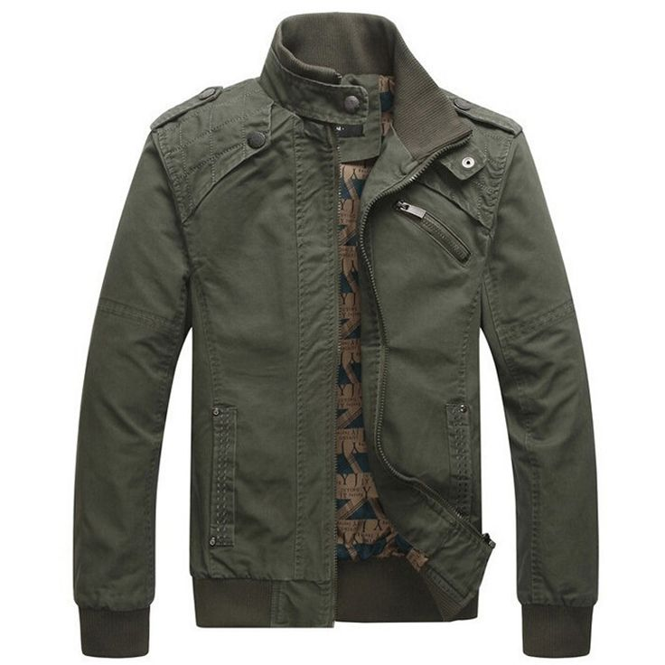 Jacket men Casual Winter Jacket Cotton Stand Collar Coats Army Military Outdoors men's Male clothes overcoat jaqueta masculina
