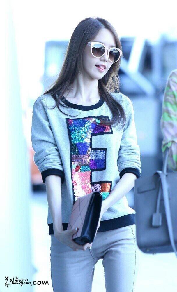 Snsd Yoona Fashion Airport May 2014 Kpop Snsd Yoona Pinterest