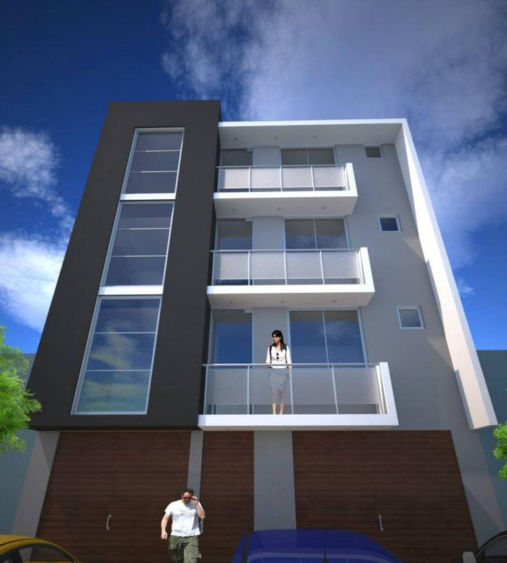 Dise o para un edificio de apartamentos en la ciudad de for Disenos de apartamentos pequenos modernos