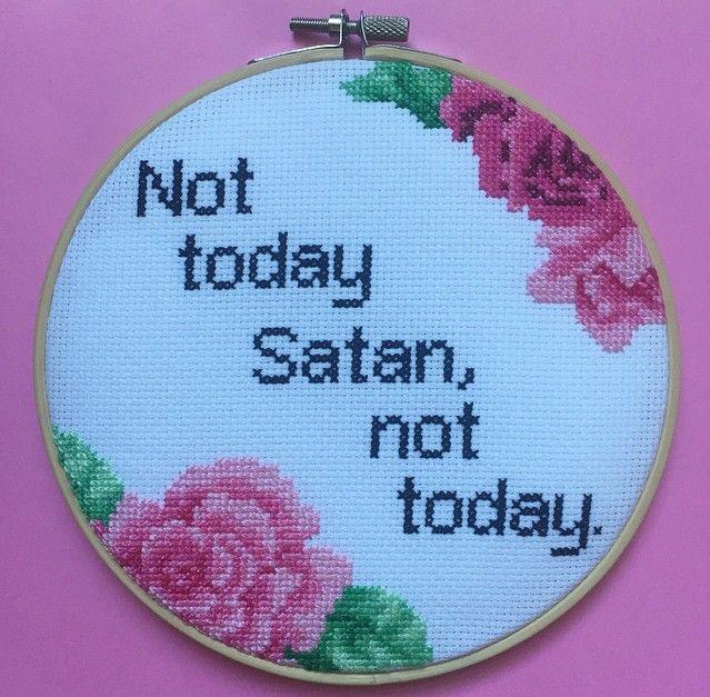 Not today Satan, not today. - Imgur