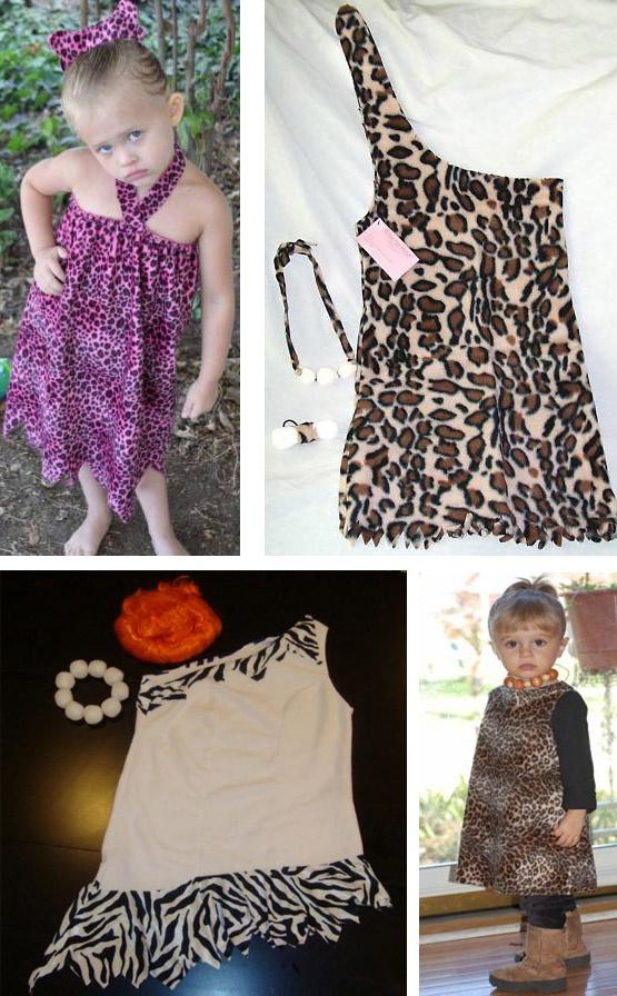 Cute Pebbles Flinstones Costume