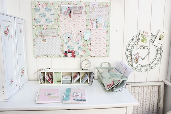 A Tilda Filled Pastel Craft Room