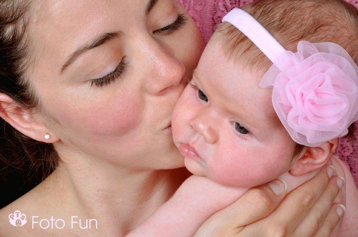 sweet mum and baby