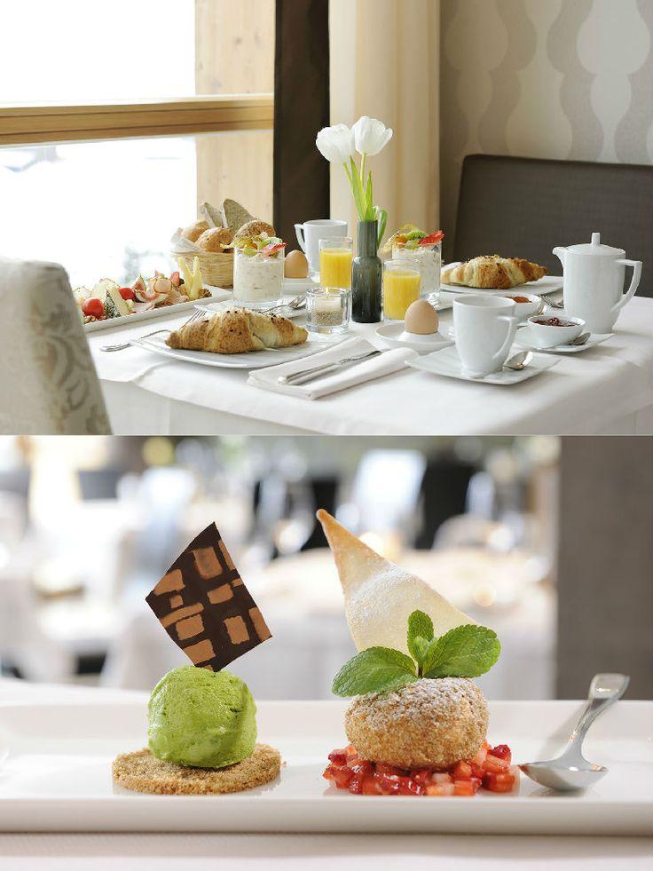 Das Kronthaler | Alpine Style Hotel | Austria | http://lifestylehotels.net/en/das-kronthaler | restaurant, breakfast, food, fancy