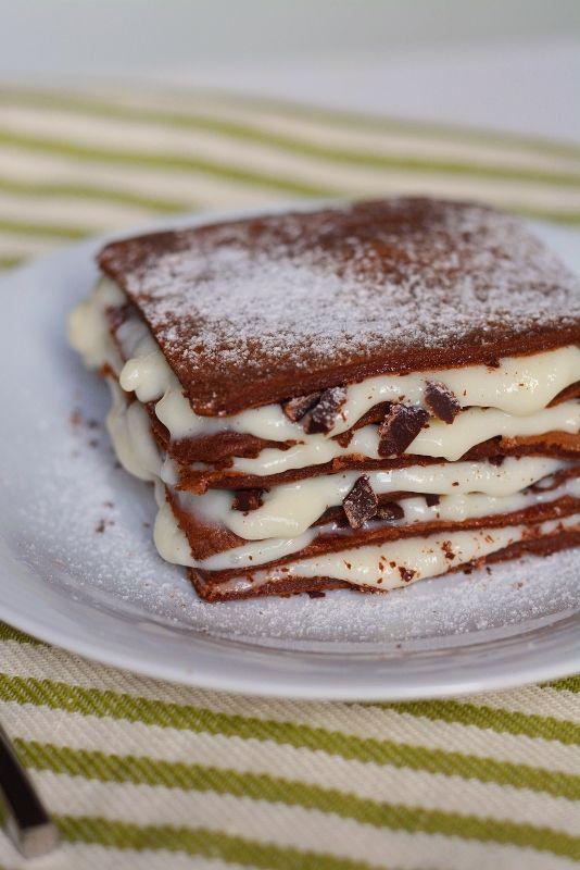 Lasagna al #cioccolato golosissime, assolutamente da provare.  Clicca e scopri la #ricetta...