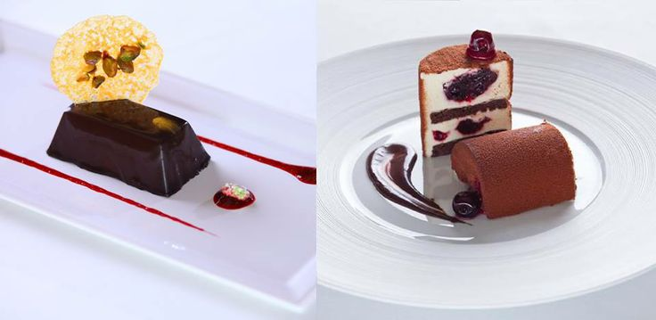 What would you like to have? Amedei chocolate Lingotto and Bronte pistachio or Amarena cherries chocolate cake?