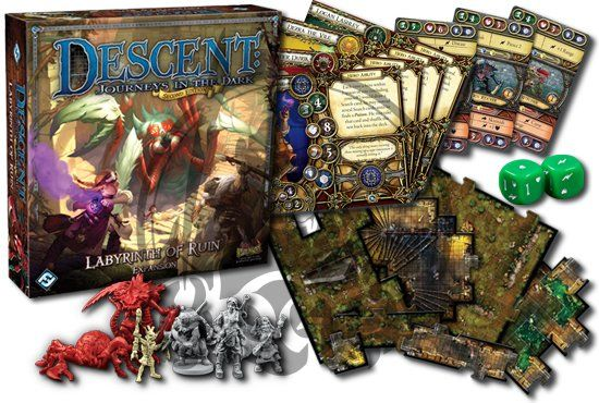 the Labyrinth of Ruin expansion for Descent: Second Edition