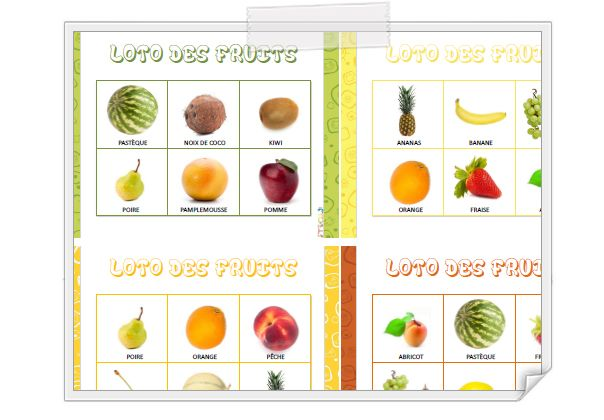 Lotos et m morys des fruits entiers ou coup s r f rentiel des fruits - Jeux ou on coupe des fruits ...